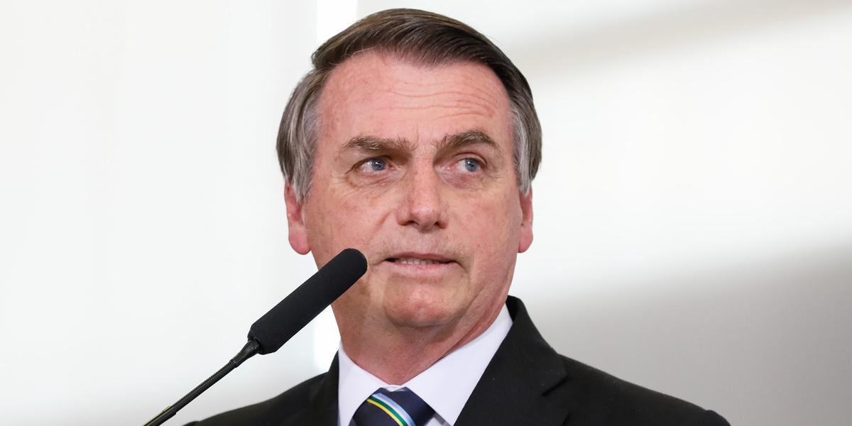 Bolsonaro fez postagem sobre Alexandre de Moraes neste sábado