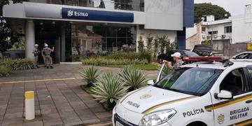 Agência Estilo do Banco do Brasil foi alvo de assalto nesta sexta-feira