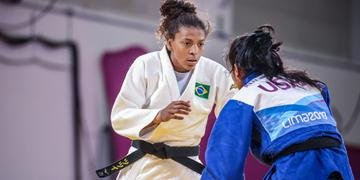Rafaela Silva conquistou o ouro no Pan pela primeira vez na carreira