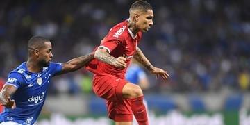 Guerrero deverá desfalcar o Inter na partida de volta contra o Cruzeiro