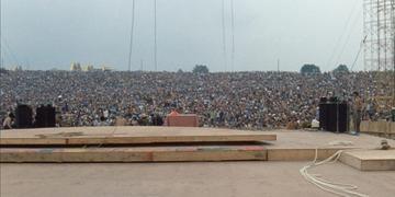 Woodstock teve início no dia 15 de agosto de 1969
