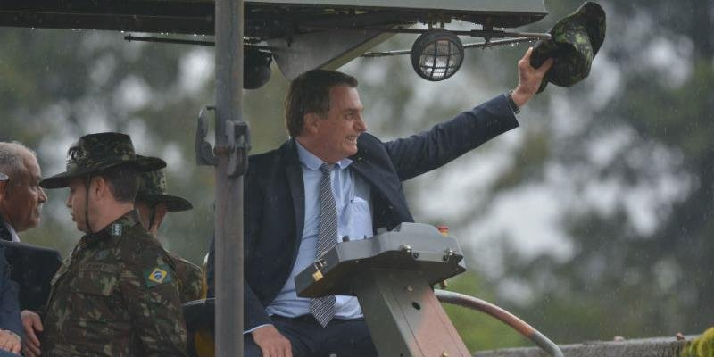 Bolsonaro esteve no Rio Grande do Sul no começo da semana