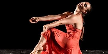 Bailarina Marilice Bastos apresentou novo espetáculo neste final de semana