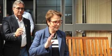 Entre as atividades de Tereza Cristina na Expointer nesta quinta-feira esteve o almoço na sede da Farsul