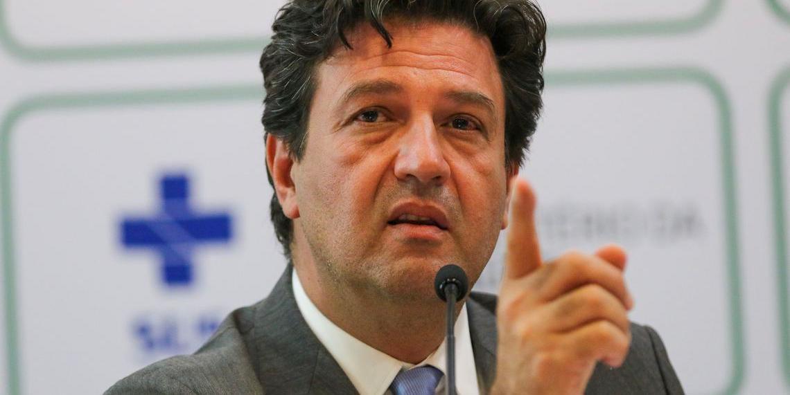 Anúncio foi dado pelo ministro da Saúde Luis Henrique Mandetta nesta segunda-feira