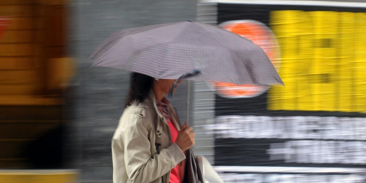 Chuva deve atingir Porto Alegre ao longo desta quarta-feira