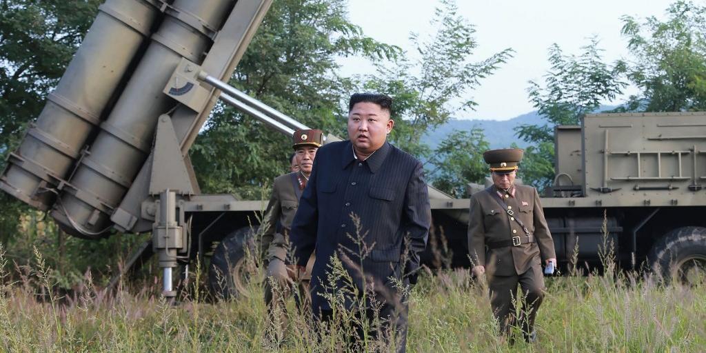 Ditador norte-coreano acompanhou procedimentos em campo