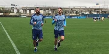 Maicon pode ser uma opção para Renato no jogo de domingo contra o Goiás