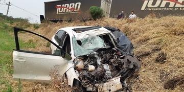 Acidente ocorreu no km 305 na tarde desta quarta-feira