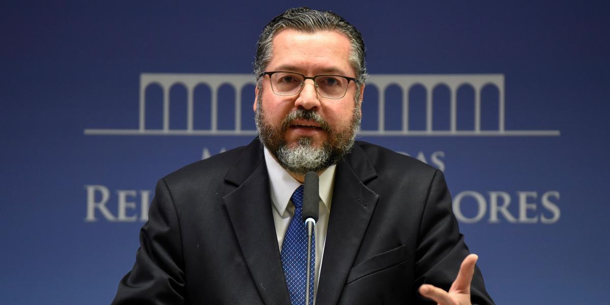 Chanceler também defendeu postura de Bolsonaro perante críticas