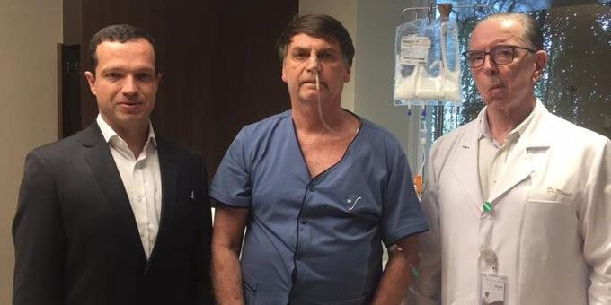 Médico visitou Bolsonaro na noite desta quinta-feira