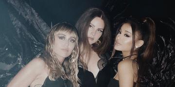 No clipe, cantoras são três poderosas espiãs