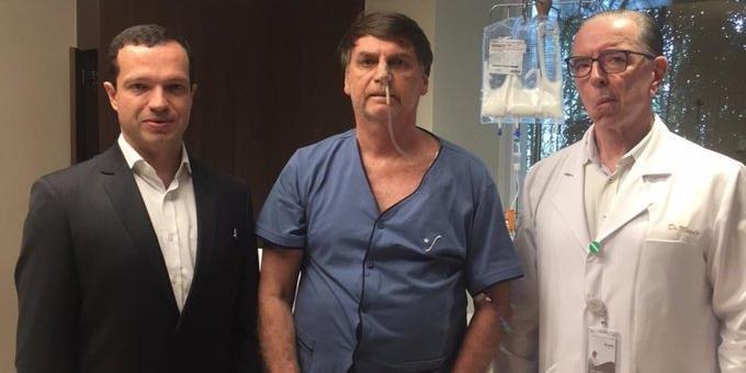 Bolsonaro apresenta melhora após cirurgia