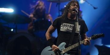 Foo Fighters fechou a noite de sábado no Palco Mundo do Rock In Rio