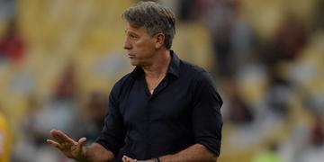 Para Renato, Grêmio merecia o empate contra o Fluminense