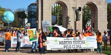 Marcha pelo Clima atacou projeto da Mina Guaíba