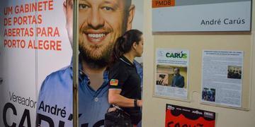 Vereador André Carús foi alvo de operação em 1º de outubro de 2019