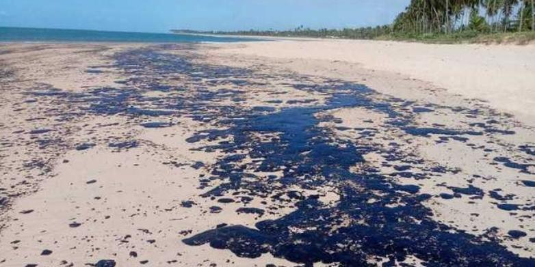 Catorze praias baianas foram atingidas por manchas de óleo