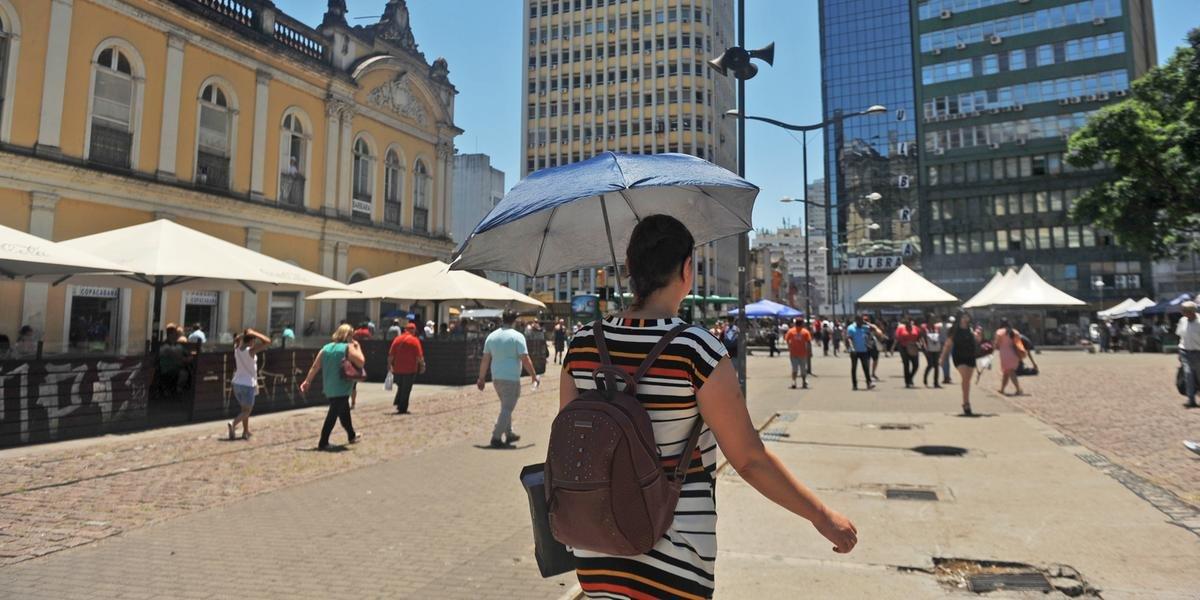 Porto Alegre deve registrar mínima de 20°C e máxima de 39°C