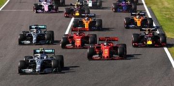 Vettel hesitou na largada para não queimar e Bottas disparou