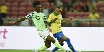 Brasil ficou só no empate com a Nigéria no amistoso deste domingo