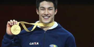 Arthur Nory sagrou-se campeão mundial na barra fixa