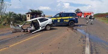 Idosas morreram em colisão na BR 285