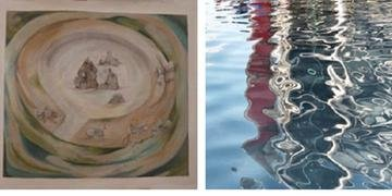 Exposição trará obras feitas pelas artistas Augusta Sarria Larco e Rose Aguiar