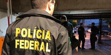Cumprimento de mandados de busca, apreensão e prisão realizados pela PF