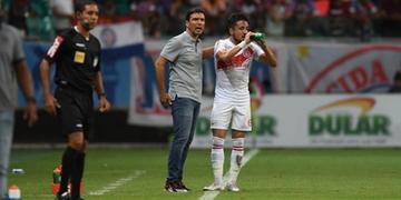 Zé Ricardo destacou a entrega de todos os jogadores e comissão técnica na busca pela terceira vitória fora de casa no Brasileiro
