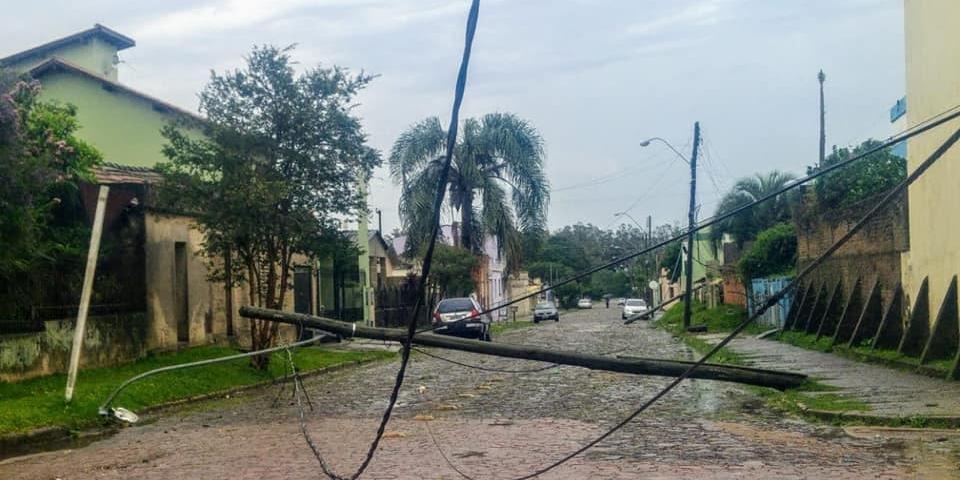 Dom Pedrito teve mil residências atingidas e 4,2 mil pessoas afetadas por causa do temporal