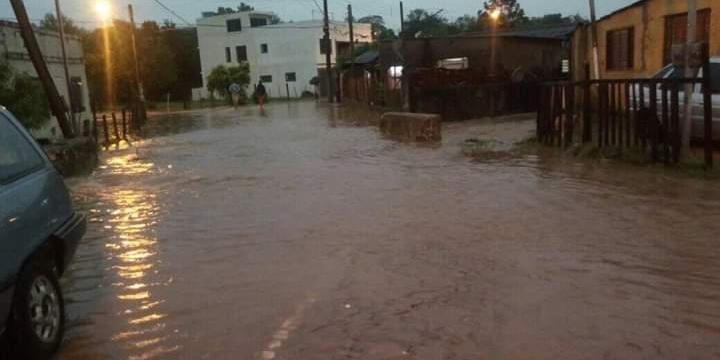 Em São Gabriel, 50 casas foram atingidas pela cheia