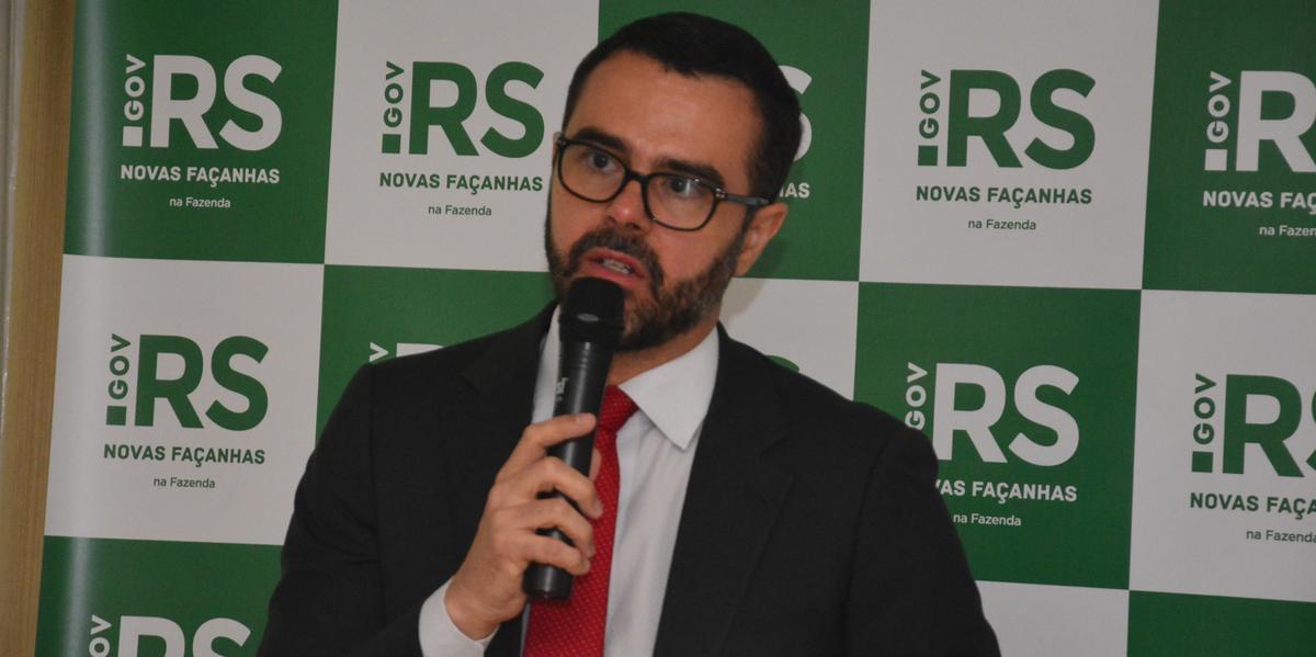 Secretário Marco Aurélio Cardoso explicou medidas para equilibrar as contas do Rio Grande do Sul