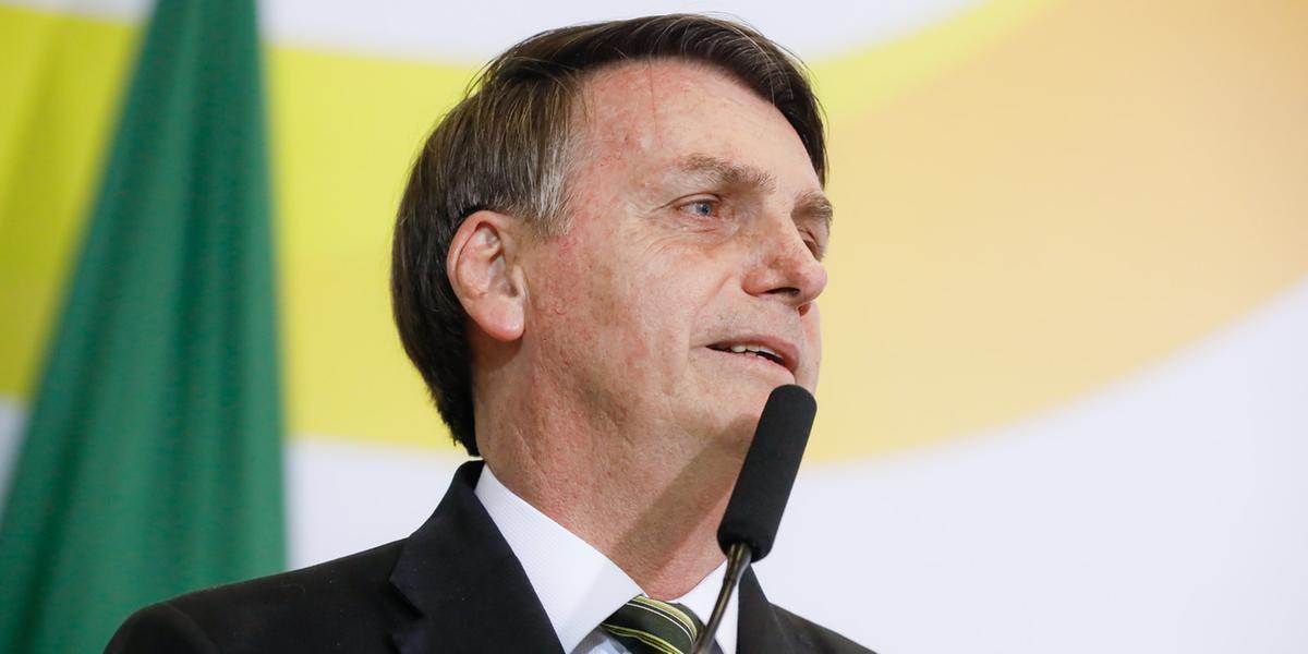 Bolsonaro afirmou que a proposta atinge municípios que estão no