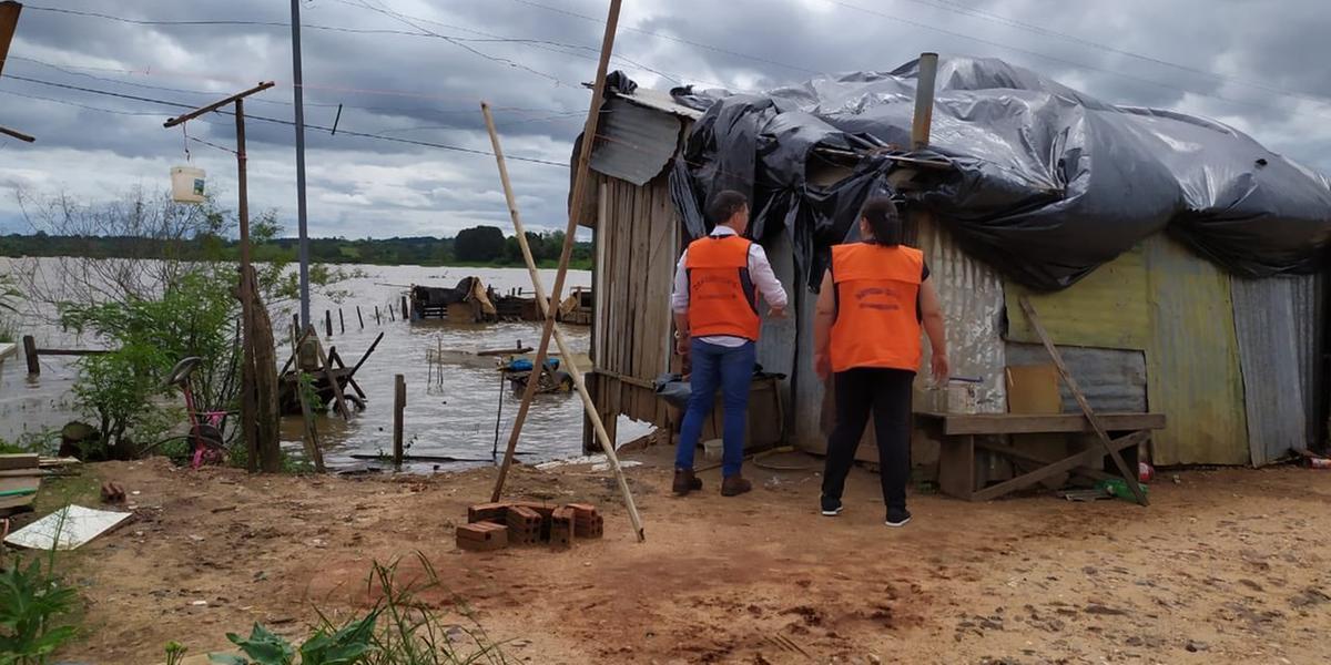Rio Pardo já registra pontos de alagamentos devido o aumento do volume de água do rio