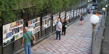 Escadaria da Borges receberá exposição do Street Expo Photo neste sábado