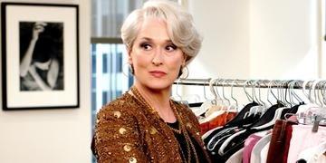 Meryl Streep em 'O Diabo Veste Prada'