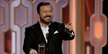 Ricky Gervais vai apresentar o Globo de Ouro pela quinta vez