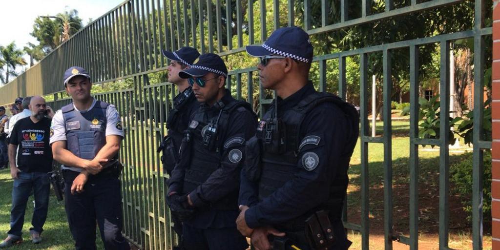 Embaixada da Venezuela foi invadida nesta quarta-feira