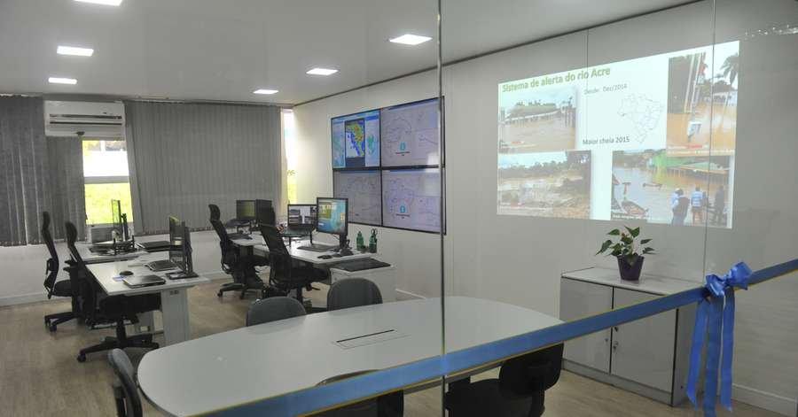Inaugurada sala de monitoramento das bacias dos rios Caí, Taquari e Uruguai - Jornal Correio do Povo