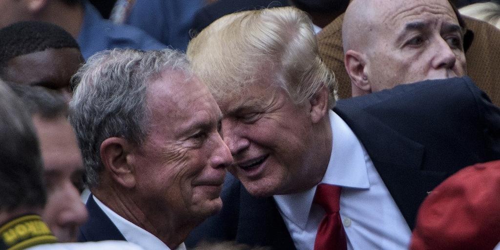 Bloomberg se lançou candidato para
