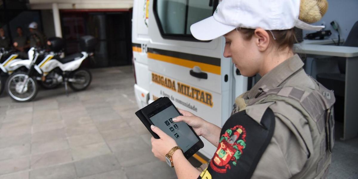 Policiais militares gaúchos aprovaram a ferramenta, que chega para agilizar o atendimento a ocorrências