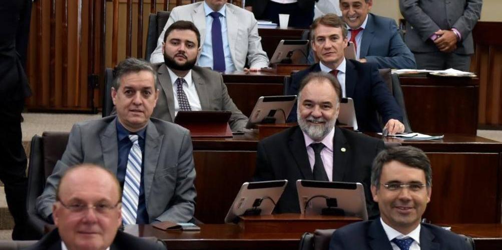 Bancada do MDB na Assembleia Legislativa