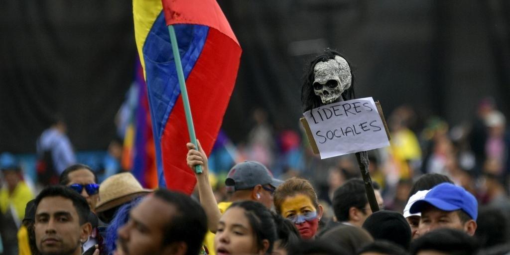 Colômbia completa uma semana de protestos