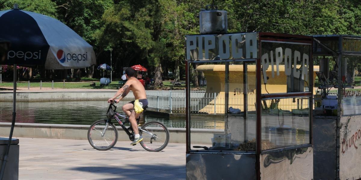 Máxima ultrapassa a casa dos 30°C em Porto Alegre