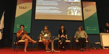 Profissionais debateram os desafios do audiovisual brasileiro