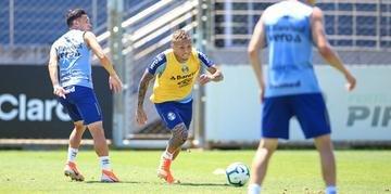 Nesta sexta-feira, o Grêmio realizou o penúltimo treino antes de enfrentar o São Paulo por vaga direta para a Libertadores