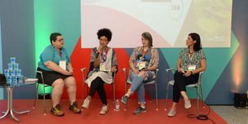Realizadoras debateram a presença feminina na indústria da animação brasileira