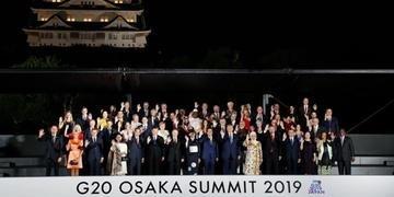 O G20 deste ano ocorreu em Osaka, no Japão, com as presenças das principais potências econômicas mundiais