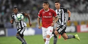 Guerrero deixou em aberta a possibilidade de permanecer no Inter e cumprir o contratou ou se transferir para o Boca Juniors em 2020